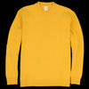 Country of Origin - Staple Lambswool Sweater in Yellow