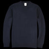 Country of Origin - Staple Lambswool Sweater in Dark Navy