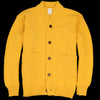 Country of Origin - 3 Ply Cardigan in Yellow