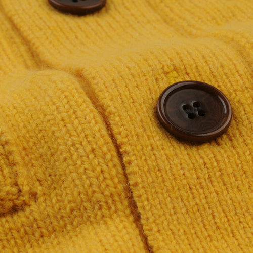 3 Ply Cardigan in Yellow