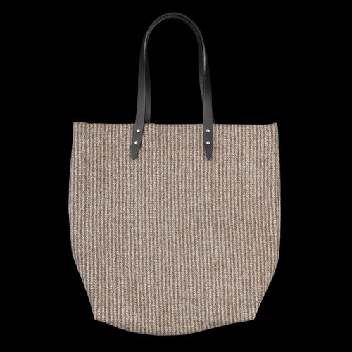 Blanket Tote in Vertical Stripe