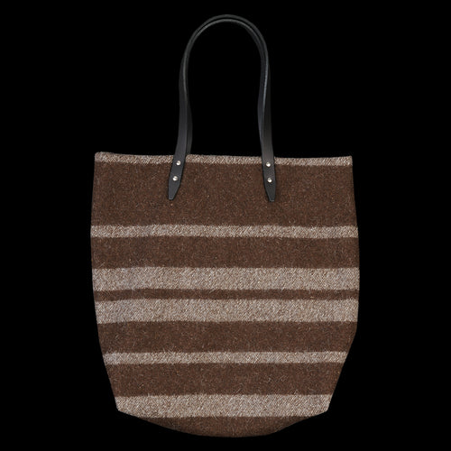 Blanket Tote in Horizontal Stripe