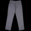 Home Work - Twill Weekend Worker Pant in Metal