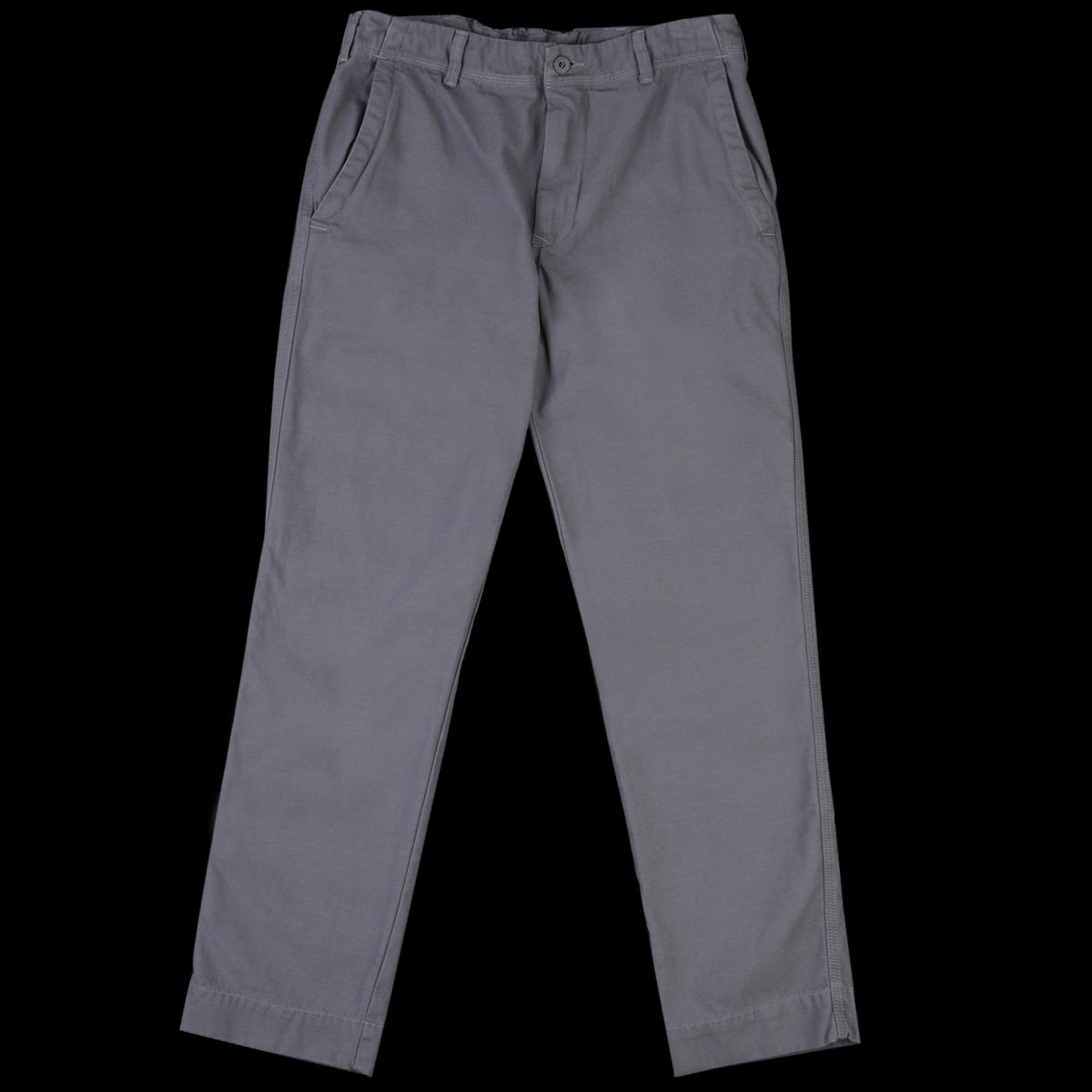 0b401d94c1 Home Work - Twill Weekend Worker Pant in Metal - UNIONMADE
