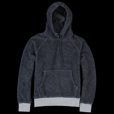 Home Work - Berber Hooded Pullover in Navy