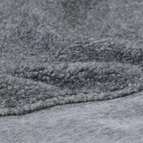 Berber Crew Sweatshirt in Grey