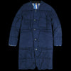 Kapital - 8oz IDGxIDG Denim Quilt SAMU Coat in Indigo