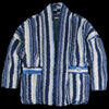 Kapital - Primal Stripe Boa Fleece KESA Jacket in Stripe