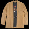 Kapital - Roughout Leather SHA-KA Jacket in Camel