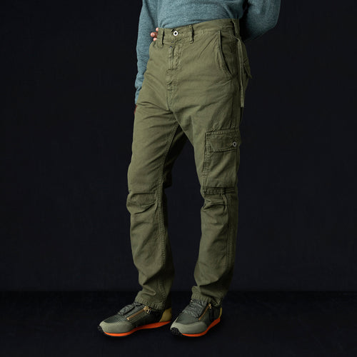 Light Canvas RINGOMAN Cargo Pants in Khaki