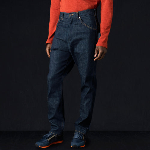 14oz Denim MONKEYPOD Sarouel Pants in Indigo