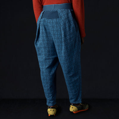 Kapital - DO-GI Sashiko Jersey SHIMOKITA Cropped Pant in Blue