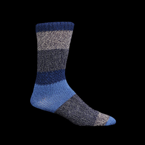 56 Yarns KOGIN Grandrelle Stretch Socks in Navy