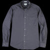 Hartford - Side Pat Shirt in Carbone