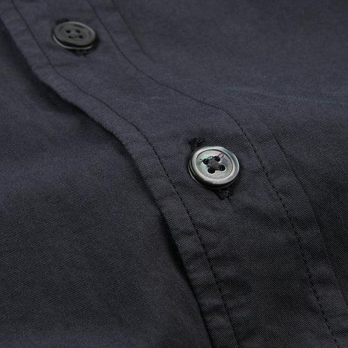 Side Pat Shirt in Carbone