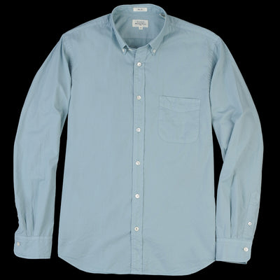 Hartford - Side Pat Shirt in Celadon