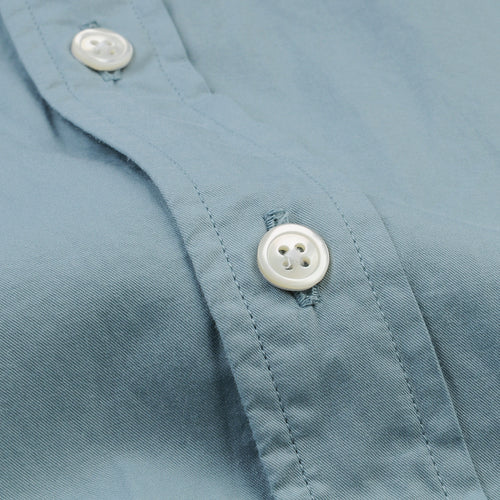 Side Pat Shirt in Celadon
