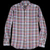 Hartford - Pure Linen Madras Paul Shirt in Pink