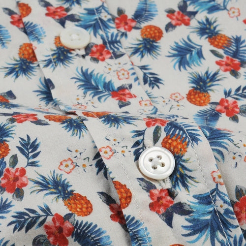 Paul Shirt in Pineapple & Hibiscus