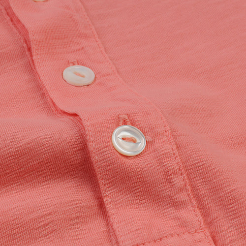 Henley in Coral