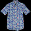 Hartford - Reverse Tropical Sander Mc Shirt in Blue