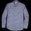 Hartford - Liberty Floral Penn Shirt in Multi on Navy