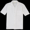 Hartford - Bouclette Chemisette Polo in White