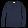 Hartford - Light Crew Sweatshirt in Navy
