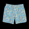 Hartford - Tropical Swimshort in Aqua Blue