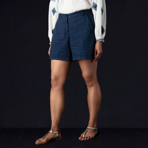 Soda Short in Dark Navy