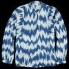 Hartford - Ikat Hara Top in Petrol Blue