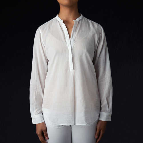 Carta Shirt in White