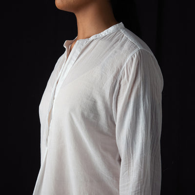 Hartford - Carta Shirt in White