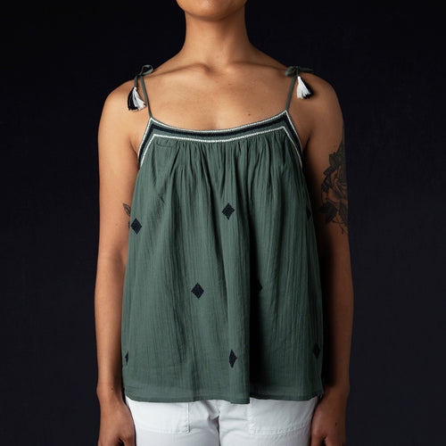 Habile Top in Green