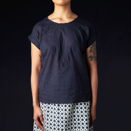 Hypa Top in Dark Navy