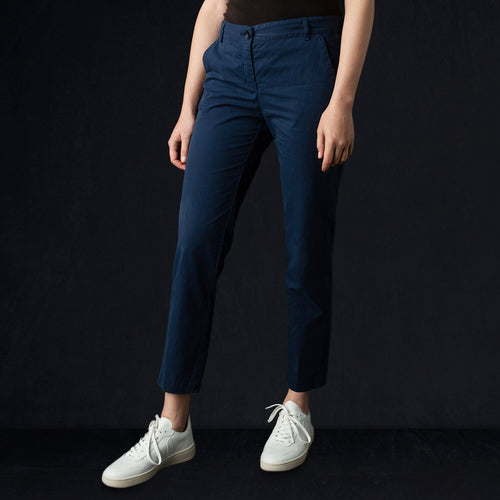 Port Pant in Dark Navy