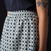 Hartford - Batik Jousse Skirt in Navy