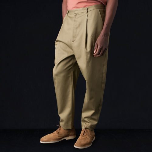 Cotton Twill Wyatt Pant in Loden