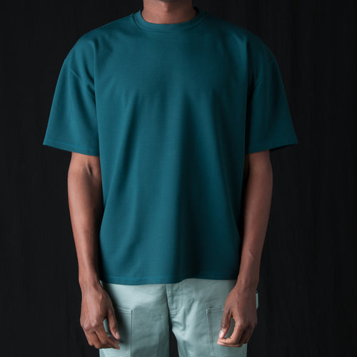 Ponti Oversized Tee in Teal