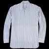 Deveaux - Raised Stripe Trapeze Shirt in Navy