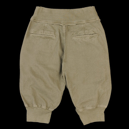 Light Canvas Sarouel Nouvelle Short in Khaki