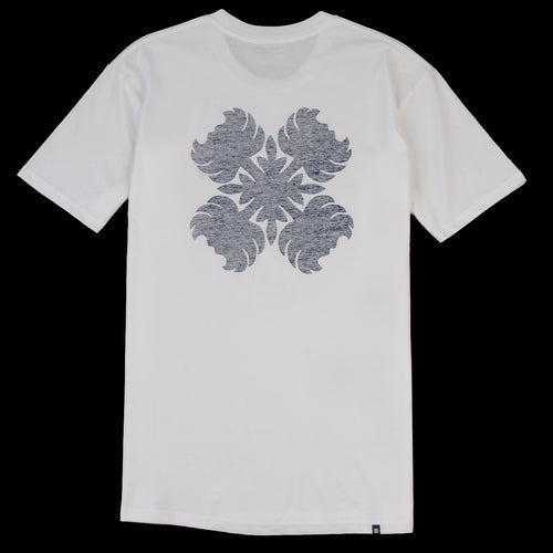 Big Island Blooms Tee in White