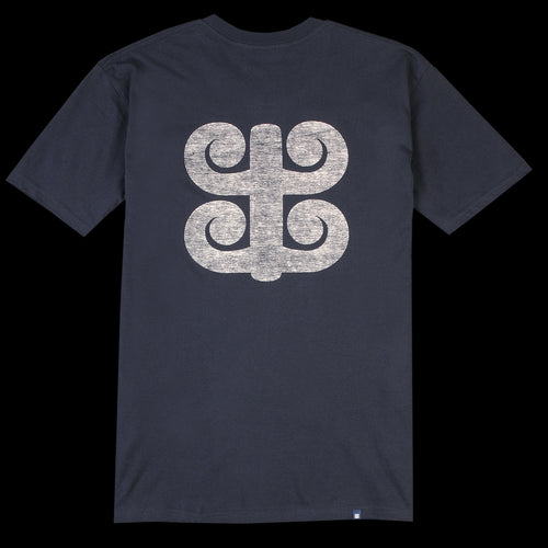 Tapa Logo Tee in Navy