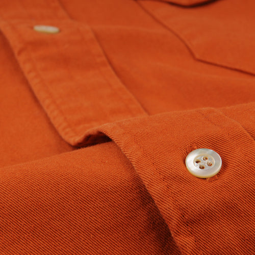 Tab Twill Shirt in Autumnal