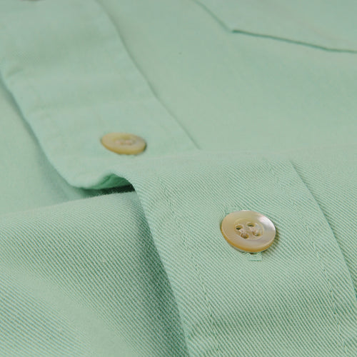Tab Twill Shirt in Meadow