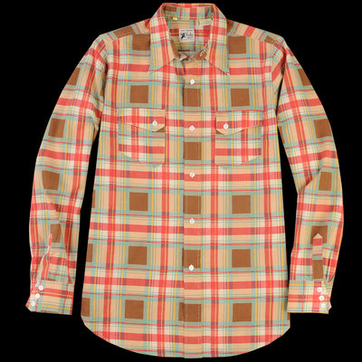 Levi's Vintage Clothing - Rodeo Shirt In Brown Check