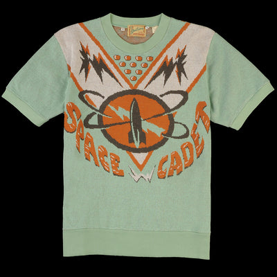 Levi's Vintage Clothing - Knit Surf Tee in Space Cadet Intarsia