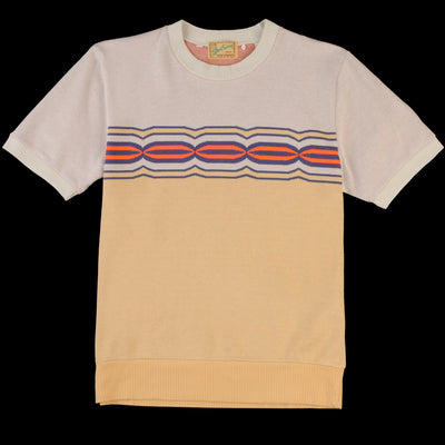 Levi's Vintage Clothing - Knit Surf Tee in Robot Eye Intarsia