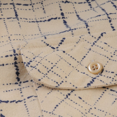 Levi's Vintage Clothing - Shorthorn Shirt in Cobalt Print
