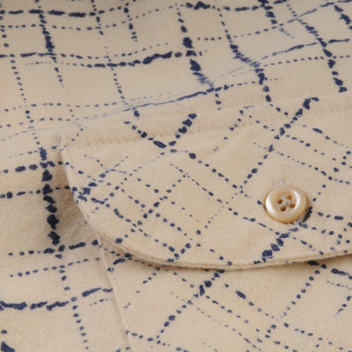 Shorthorn Shirt in Cobalt Print